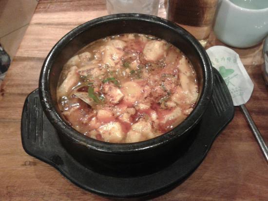 Ye Dang Korean Restaurant: Delicous Tofu Kim Chi Soup