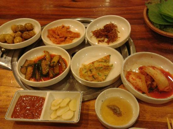 Ye Dang Korean Restaurant: Free Appetizers