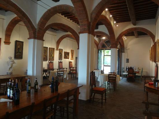 Tuscan Wine Tours with Angie: tasting area winery 1