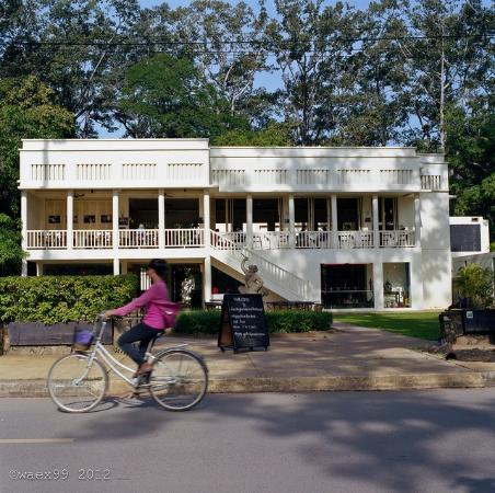 FCC Angkor: The hotel from the street