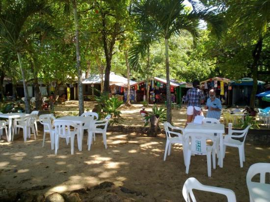 Terraza-Bar Gri-Gri: Lunch... looking back