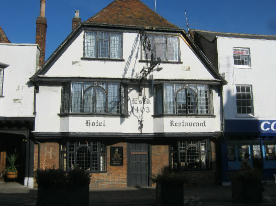 The Falstaff in Canterbury: Room 28 top left
