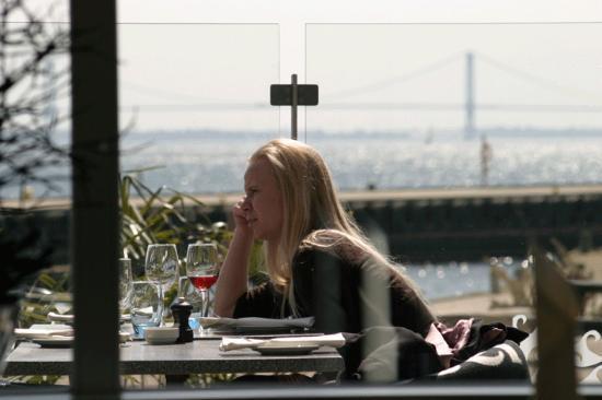 Restaurant Oven Vande: udsigten