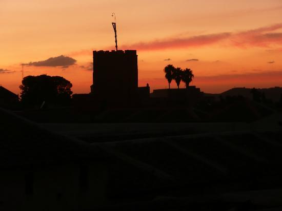 Riad El Zohar: Sunset from the Terrace