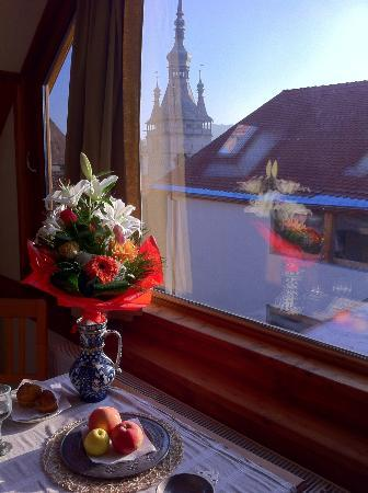 Fronius Residence: The staff even brought me flowers for my birthday; very nice touch.
