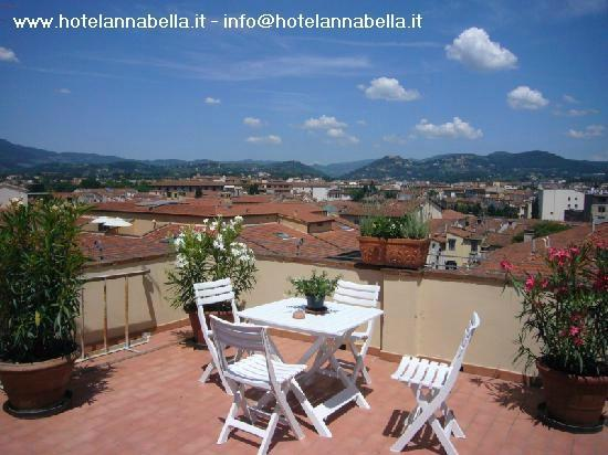 Annabella Hotel: Hotel Annabella*** Florence - roof terrace