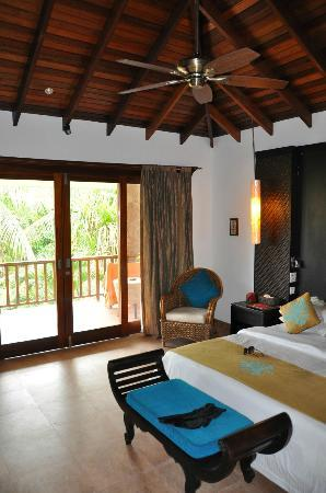 Le Duc de Praslin: our room and terrace