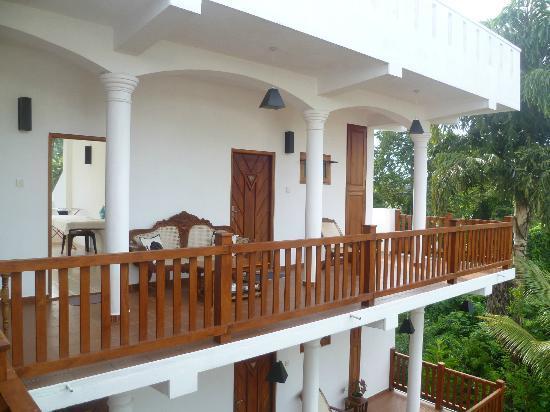 Unawatuna Nor Lanka Hotel : some rooms on top floor