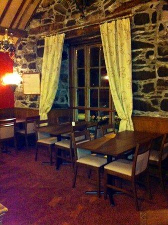 Y Sospan Cafe: Upstair window table