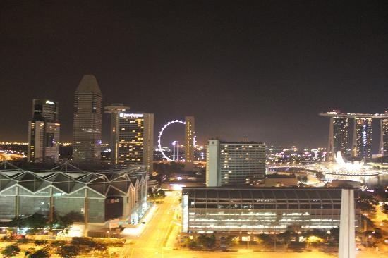 Fairmont Singapore: View from 24th floor
