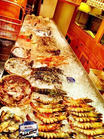 Fish market dubai restaurant reviews phone number for Fish market restaurant