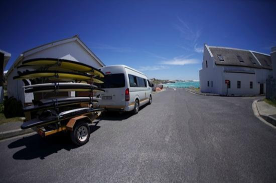 Stoked School of Surf Lessons & Surf Trips: Arniston, beach ahead