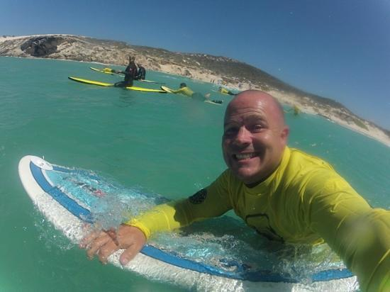 Stoked School of Surf Lessons & Surf Trips: Out on the water