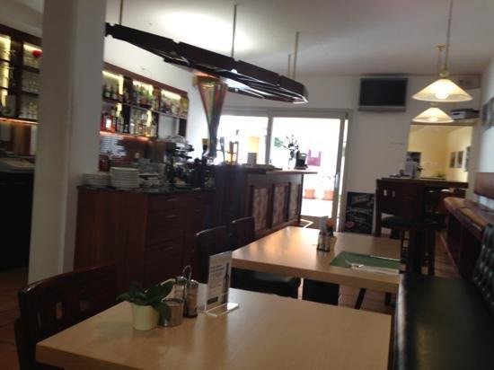 La Tarantella: the lovely restaurant