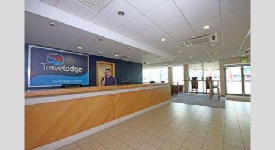 Travelodge Cambridge Central Hotel: Reception