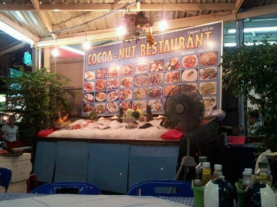 Cocoa-Nut Restaurant : fresh seafood~