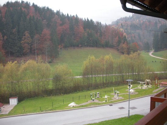 Terme Snovik: view from the apartment