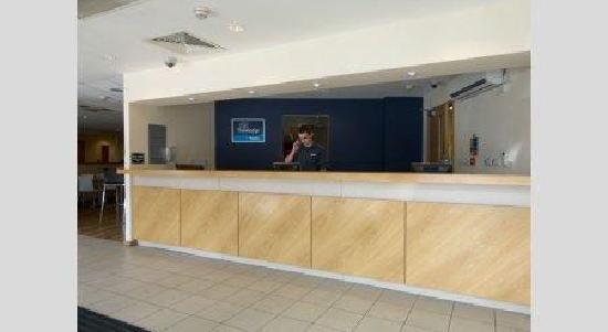 Britannia Edinburgh Hotel: Reception