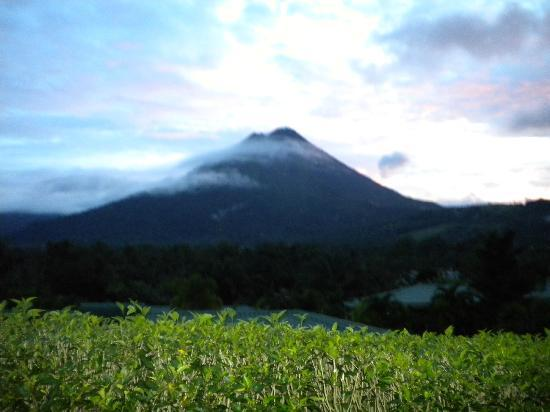 Arenal Manoa Hotel & Spa: Volcano view