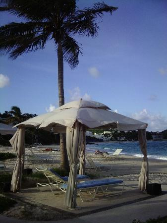 The Westin Dawn Beach Resort & Spa, St. Maarten: A beach cabana