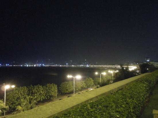 Trident, Nariman Point: View of Marine Drive from the terrace