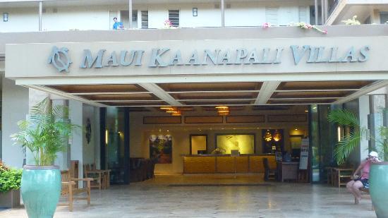 Aston Maui Kaanapali Villas: front lobby