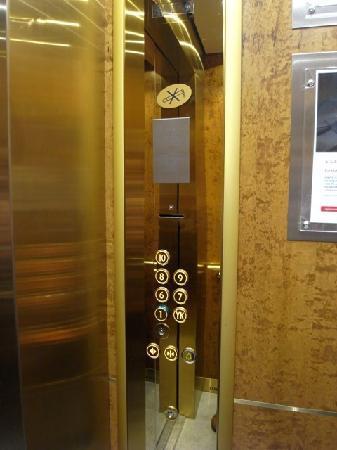 Original Sokos Hotel Vaakuna: エレベーター 狭いスーツケースがあると2人位まで