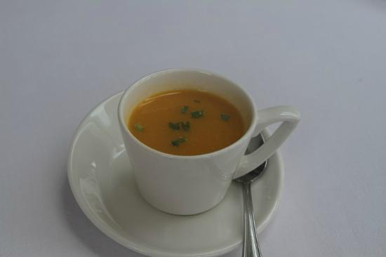 Rossini at the Leatherne Bottel: soup