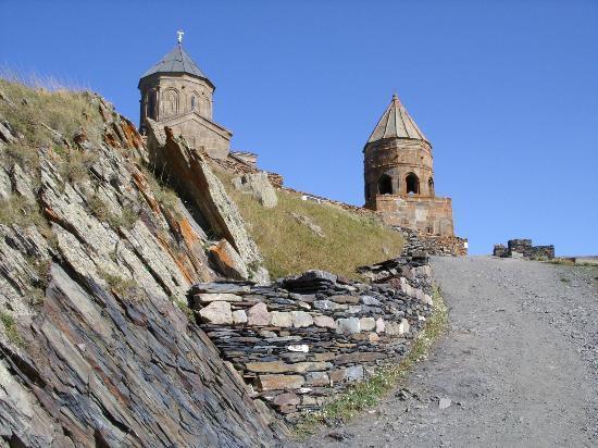 Mount Kazbek: Tsiminda Sameba