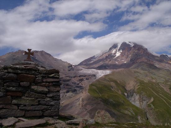 Mount Kazbek: Glacier