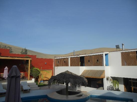 Hotel Villa Jazmin: Zona de habitaciones