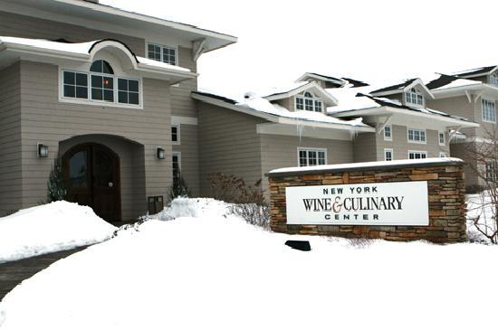 New York Wine & Culinary Center Winter - Canandaigua, NY in the Finger Lakes