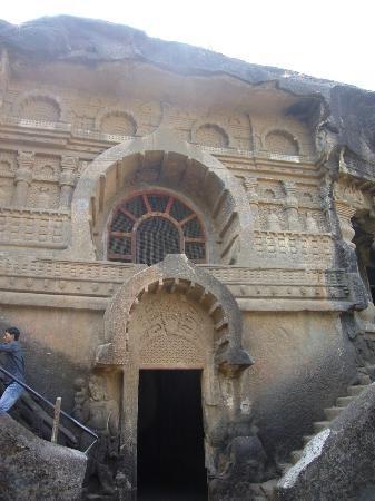 Pandavleni Caves: Part of the complex