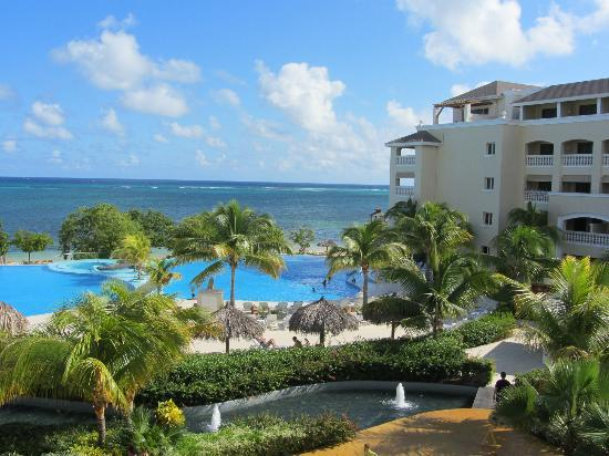 Iberostar Rose Hall Beach Hotel: Our room was the 2nd from top on the corner