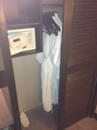 Prince Hotel (Marco Polo Hotels): robes and slippers and a safe