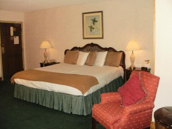 Brookside Resort: Clingman Building - King Bed