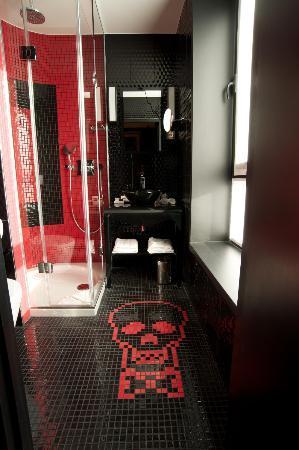 Salle De Bain Colère Classique - Picture Of Hotel Vice Versa, Paris