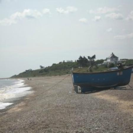 Sizewell Tea: Sizewell beach
