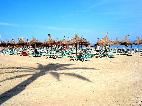 HSM Reina del Mar: Het strand van El Arenal