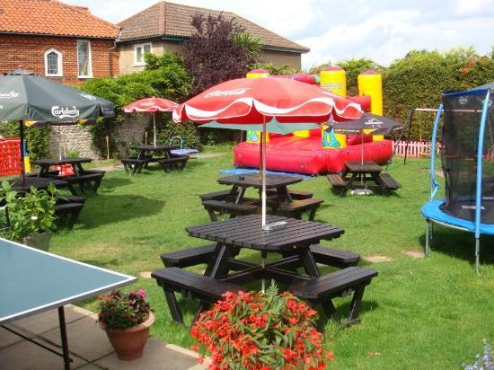 Dunstable Arms: Bouncy Castle