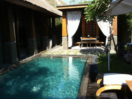 The Kayana Bali: notre piscine