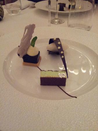 Hostellerie De Plaisance Restaurant: tout chocolat