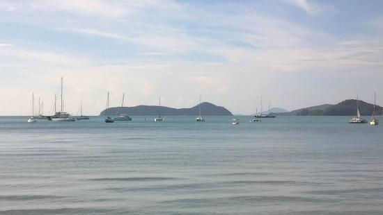 Andaman Sea Club Sailing Charters: The bay where we began our trip... beautiful!