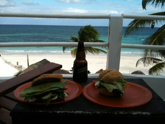 Amelie Tulum: view from our balcony