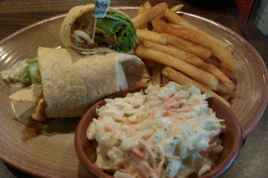Nando's: too much lettuce