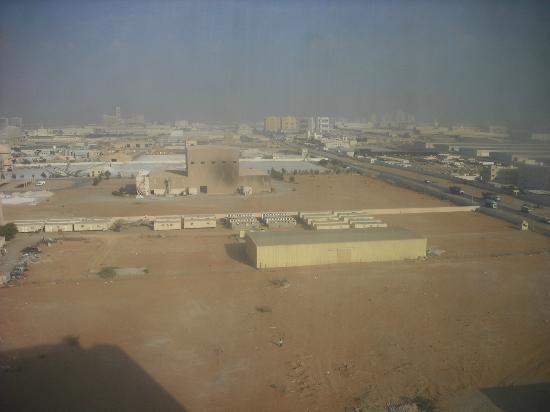 Bin Majid Acacia: view of the area from our room