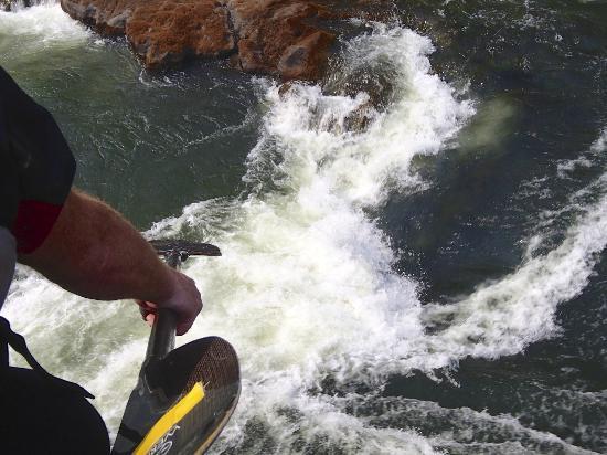 Kayak The Zambezi Day Trips: scouting
