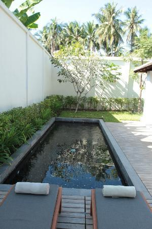Hotel de la Paix: Private pool