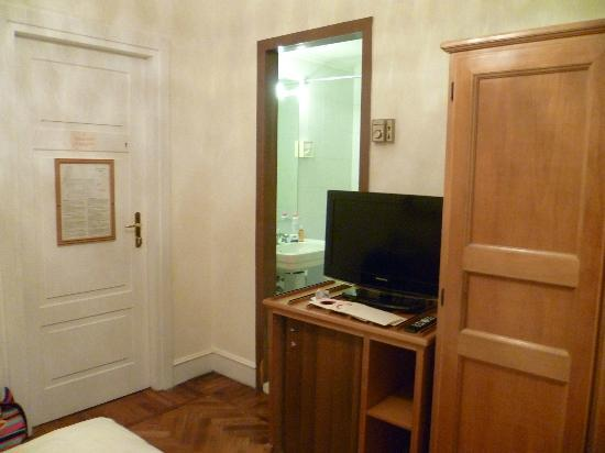 Quirinale Hotel : 'single' room