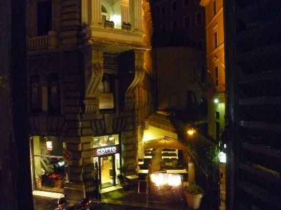 Quirinale Hotel: view from room